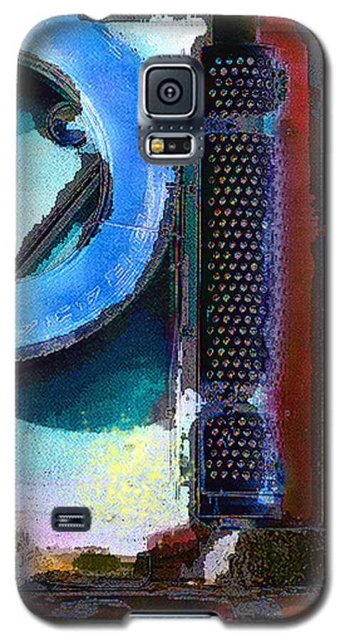 Abstract Galaxy S5 Case featuring the photograph panel one from Centrifuge by Steve Karol