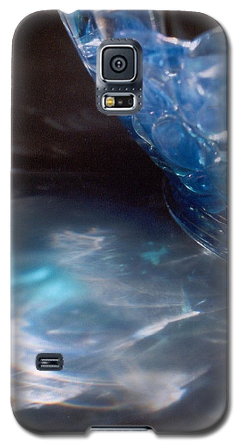 Abstract Galaxy S5 Case featuring the photograph Panel One From Swirl by Steve Karol