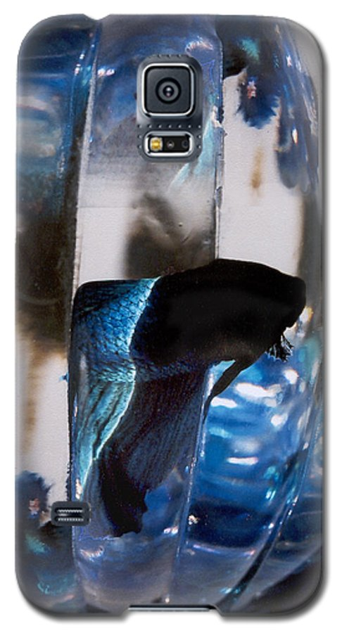 Abstract Galaxy S5 Case featuring the photograph panel three from Swirl by Steve Karol