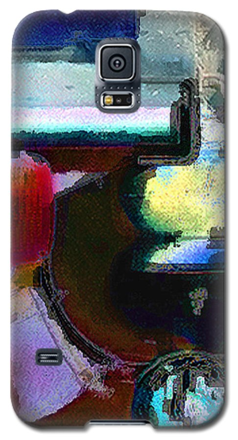 Abstract Galaxy S5 Case featuring the photograph panel two from Centrifuge by Steve Karol