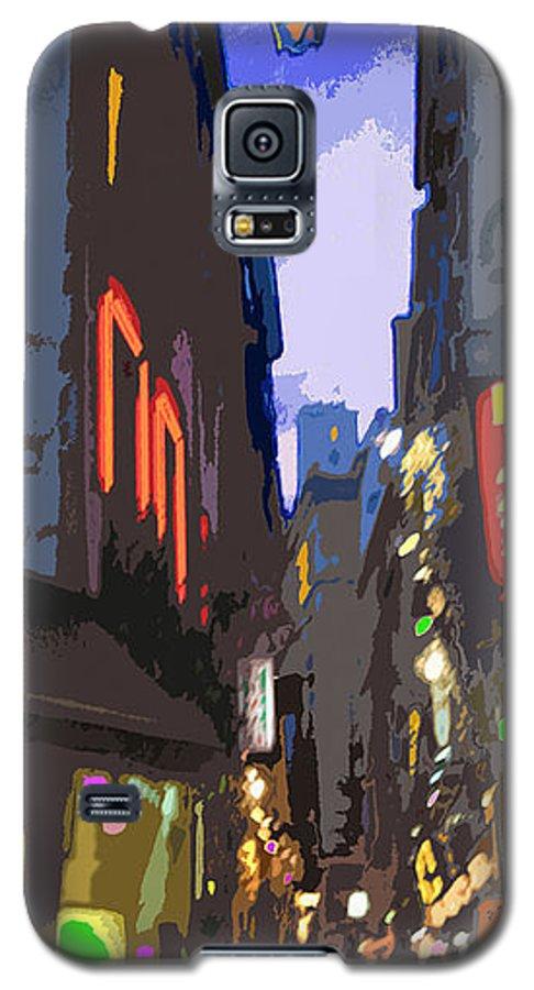Paris Galaxy S5 Case featuring the photograph Paris Quartier Latin 01 by Yuriy Shevchuk