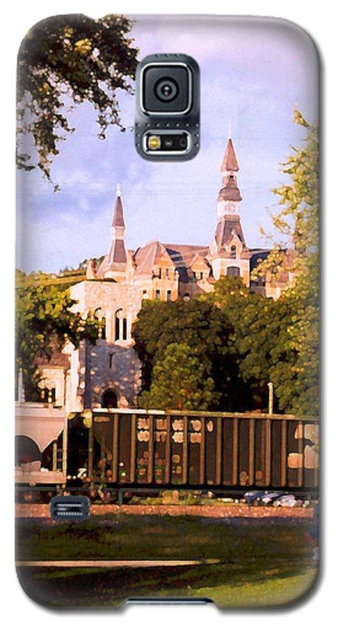 Landscape Galaxy S5 Case featuring the photograph Park University by Steve Karol