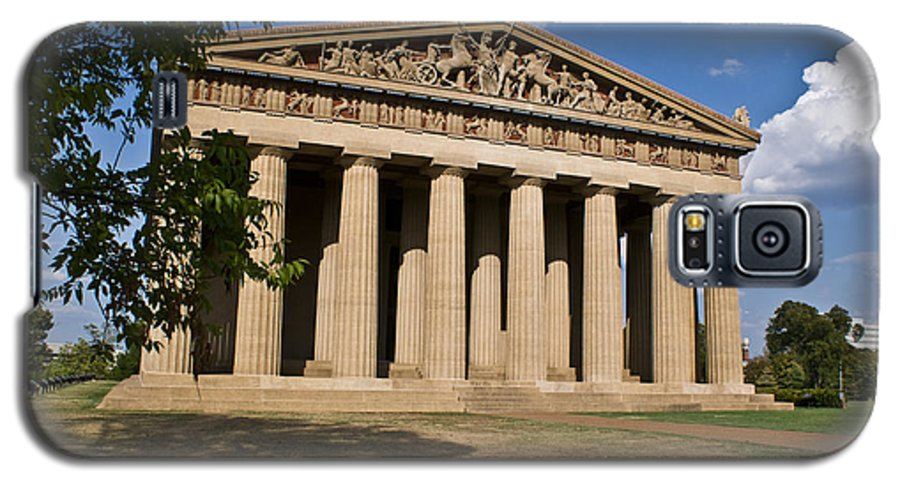 Parthenon Galaxy S5 Case featuring the photograph Parthenon Nashville Tennessee by Douglas Barnett