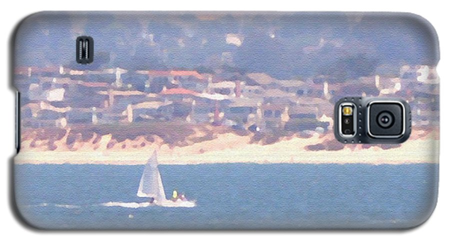 Sailing Galaxy S5 Case featuring the photograph Pastel Sail by Pharris Art