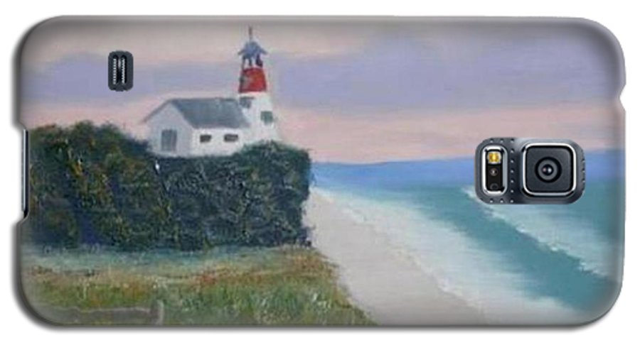 Seascape Galaxy S5 Case featuring the painting Peace Sold by R B