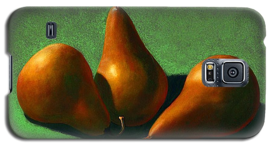 Still Life Galaxy S5 Case featuring the painting Pears by Frank Wilson