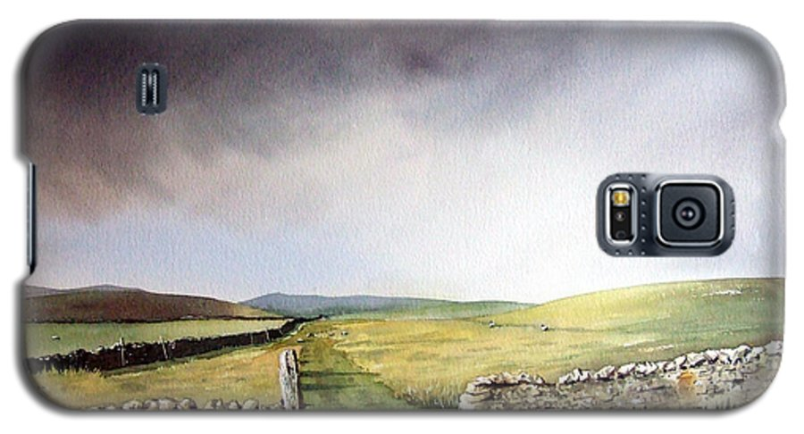 Landscape Galaxy S5 Case featuring the painting Pennine Way by Paul Dene Marlor