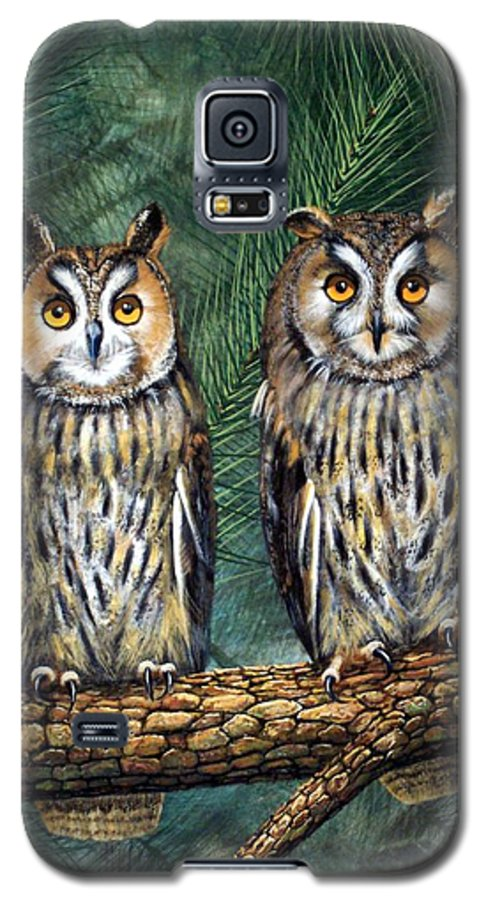 Wildlife Galaxy S5 Case featuring the painting Perfect Strangers by Frank Wilson