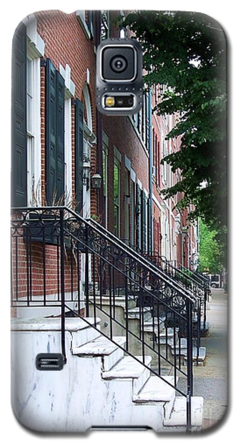Architecture Galaxy S5 Case featuring the photograph Philadelphia Neighborhood by Debbi Granruth