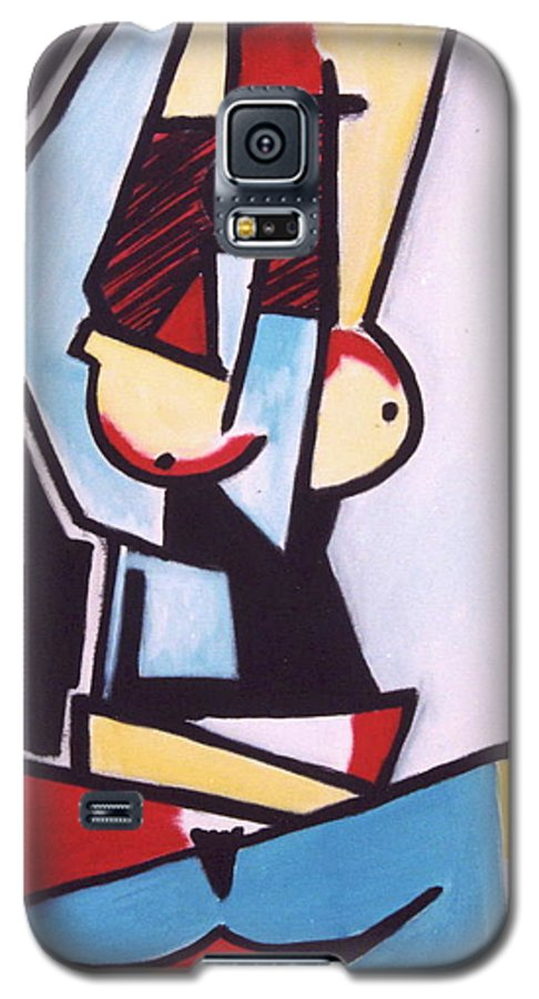 Picasso Galaxy S5 Case featuring the painting Picasso by Thomas Valentine