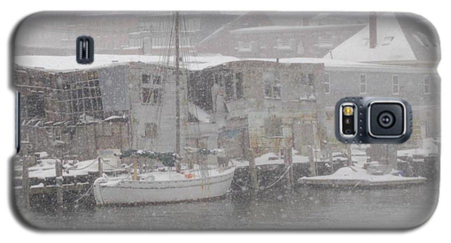 Sail Galaxy S5 Case featuring the photograph Pier In Disrepair by Faith Harron Boudreau