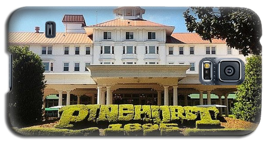 Pinehurst8 Galaxy S5 Case featuring the photograph Pinehurst #golf #pinehurst8 by Scott Pellegrin
