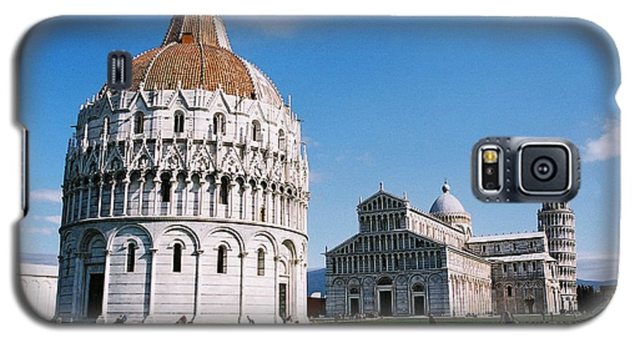 Italy Galaxy S5 Case featuring the photograph Pisa by Kathy Schumann