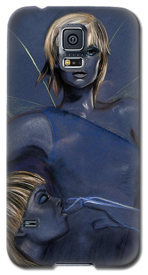 Pixie Galaxy S5 Case featuring the pastel Pixie by Maryn Crawford