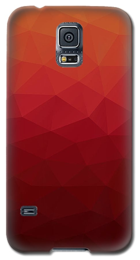 Abstract Galaxy S5 Case featuring the digital art Polygon by Mike Taylor