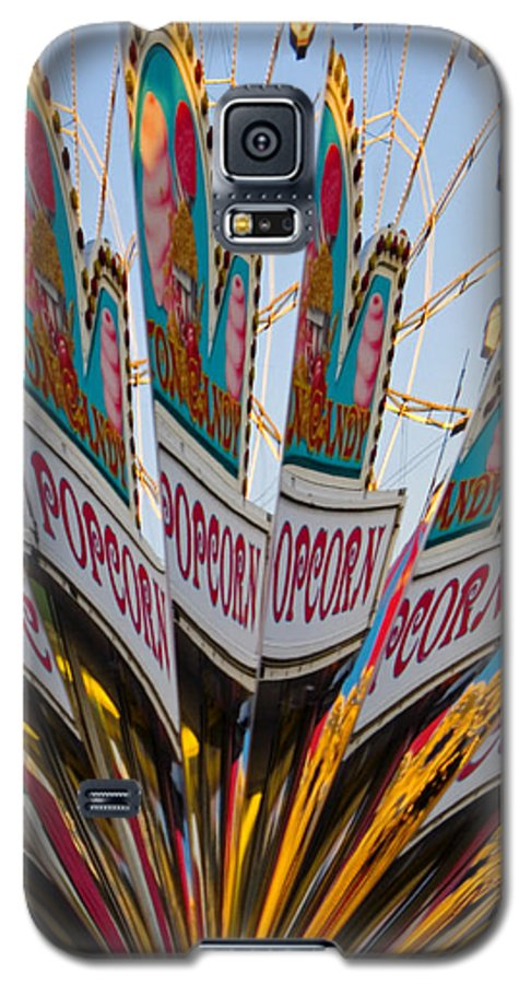 Concession Stand Galaxy S5 Case featuring the photograph Popcorn by Skip Hunt