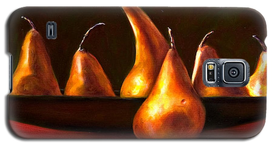 Still Life Galaxy S5 Case featuring the painting Port Au Pear by Shannon Grissom