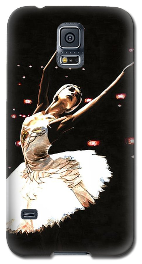 Prima Ballerina Galaxy S5 Case featuring the painting Prima Ballerina by Richard Young