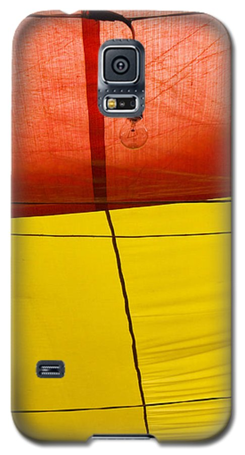 Bulb Galaxy S5 Case featuring the photograph Primary Light by Skip Hunt