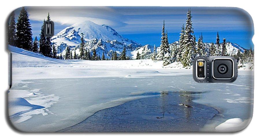 Rainier Galaxy S5 Case featuring the photograph Pristine by Mike Dawson