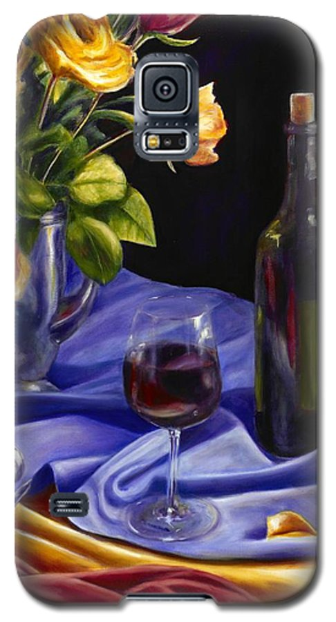 Still Life Galaxy S5 Case featuring the painting Private Label by Shannon Grissom