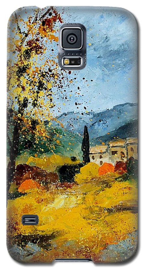 Provence Galaxy S5 Case featuring the painting Provence 45 by Pol Ledent