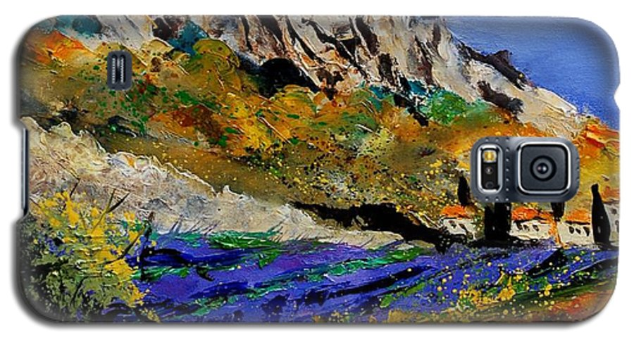 Flowers Galaxy S5 Case featuring the painting Provence 560908 by Pol Ledent