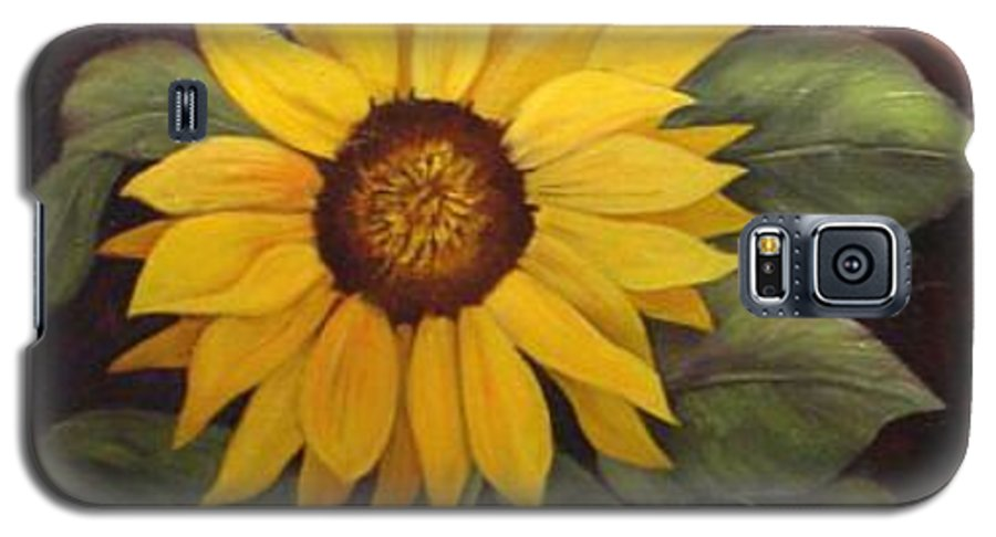Still Life Galaxy S5 Case featuring the painting Pure Sunshine Sold by Susan Dehlinger