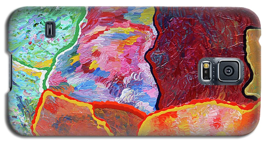 Fusionart Galaxy S5 Case featuring the painting Puzzle by Ralph White
