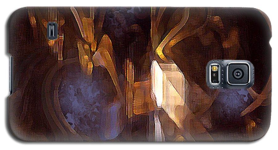 Digital Galaxy S5 Case featuring the digital art Quest by Ann Tracy