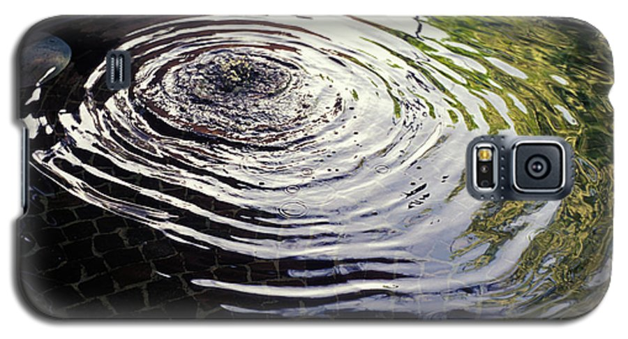 Rain Galaxy S5 Case featuring the photograph Rain Barrel by Carl Purcell