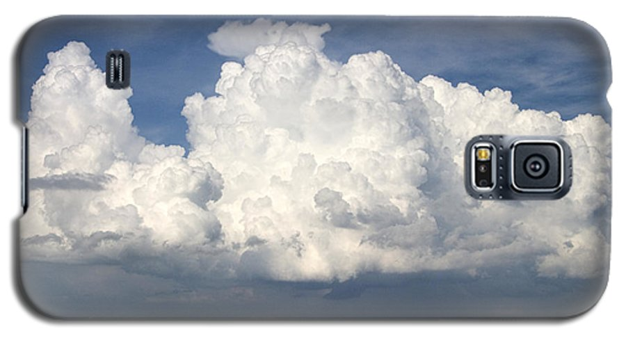Clouds Galaxy S5 Case featuring the photograph Rain Clouds Over Lake Apopka by Carl Purcell