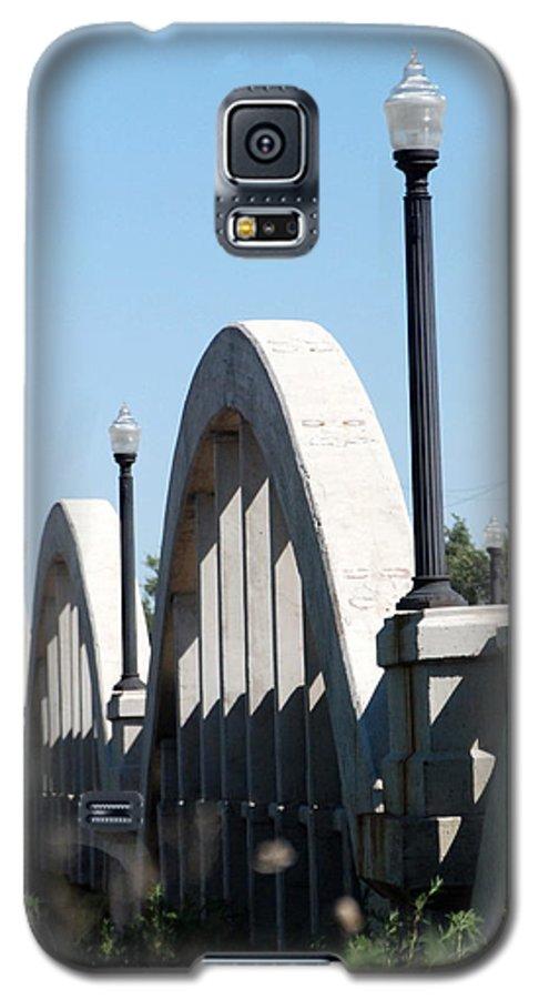 Landscape Galaxy S5 Case featuring the photograph Rainbow Bridge by Margaret Fortunato