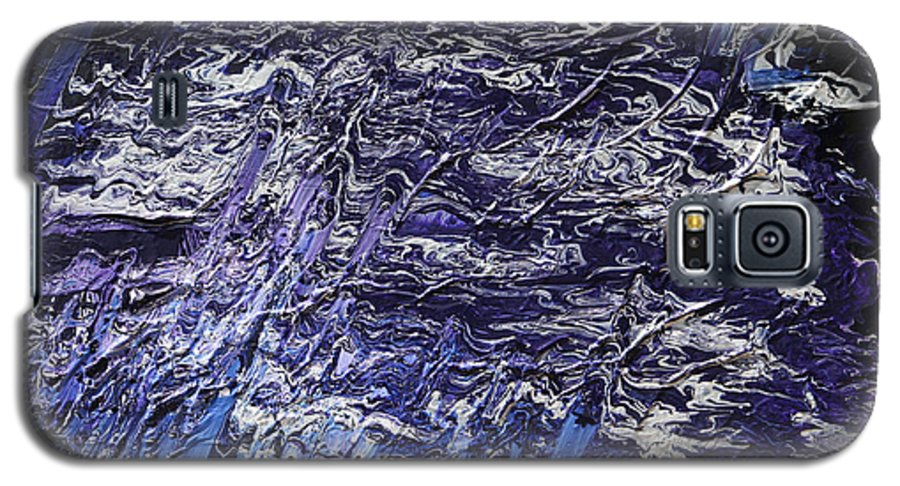 Fusionart Galaxy S5 Case featuring the painting Rapid by Ralph White