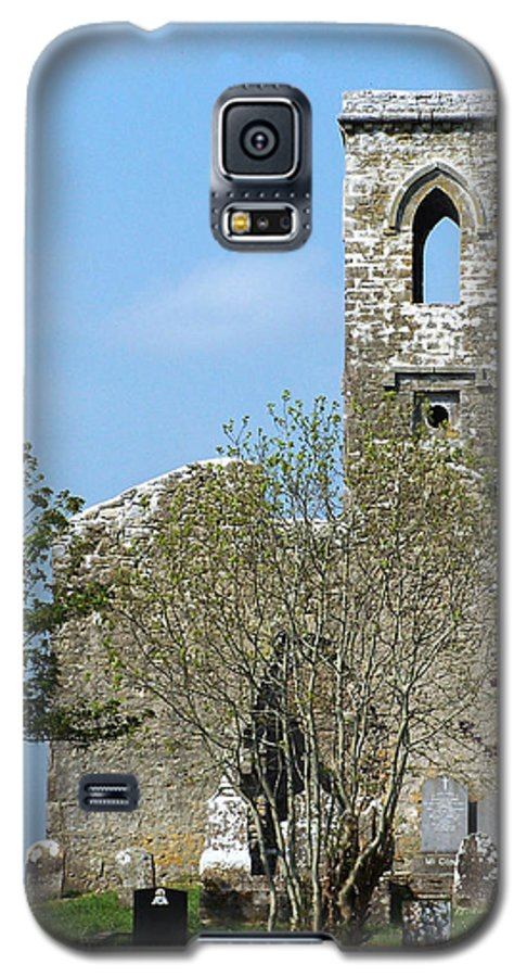 Fuerty Galaxy S5 Case featuring the photograph Rear View Fuerty Church And Cemetery Roscommon Ireland by Teresa Mucha