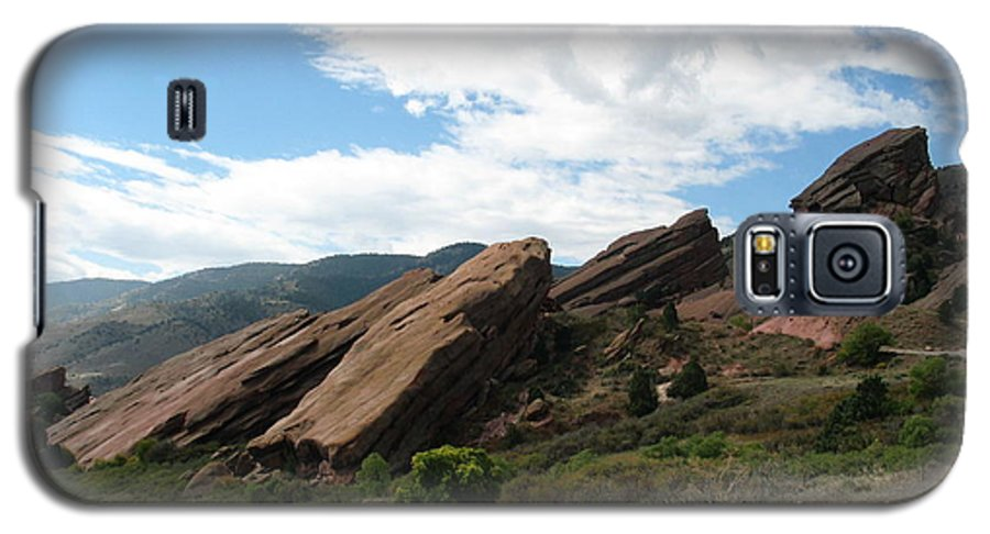 Red Rocks Galaxy S5 Case featuring the photograph Red Rocks Denver by Margaret Fortunato
