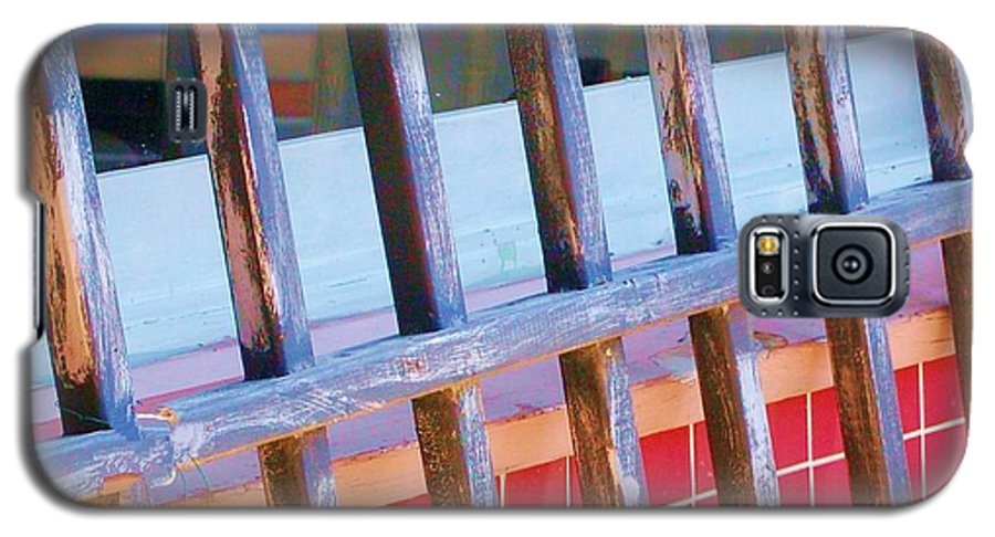 Gate Galaxy S5 Case featuring the photograph Reflections by Debbi Granruth