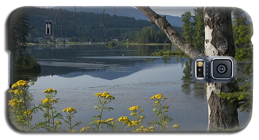 Landscape Galaxy S5 Case featuring the photograph Reflections Of Summer by Idaho Scenic Images Linda Lantzy