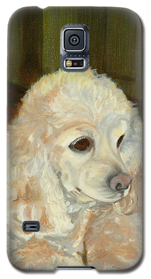 Animal Galaxy S5 Case featuring the painting Remembering Morgan by Paula Emery