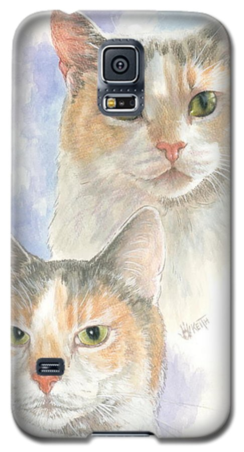 Domestic Galaxy S5 Case featuring the mixed media Reno by Barbara Keith