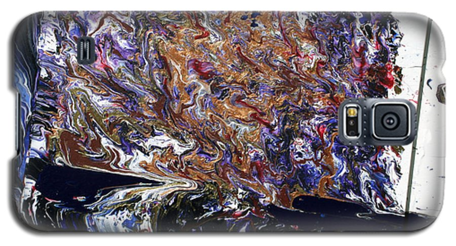 Fusionart Galaxy S5 Case featuring the painting Revolution by Ralph White