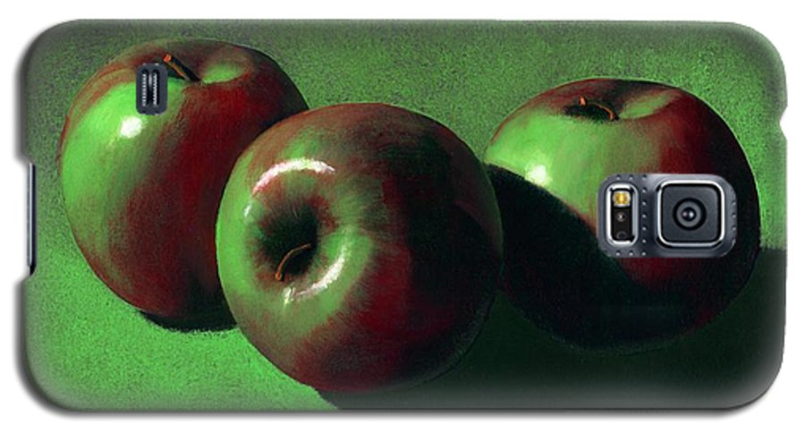 Still Life Galaxy S5 Case featuring the painting Ripe Apples by Frank Wilson