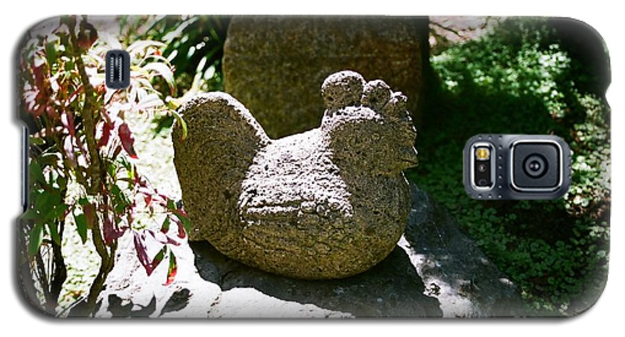 Stone Galaxy S5 Case featuring the photograph Rooster by Dean Triolo