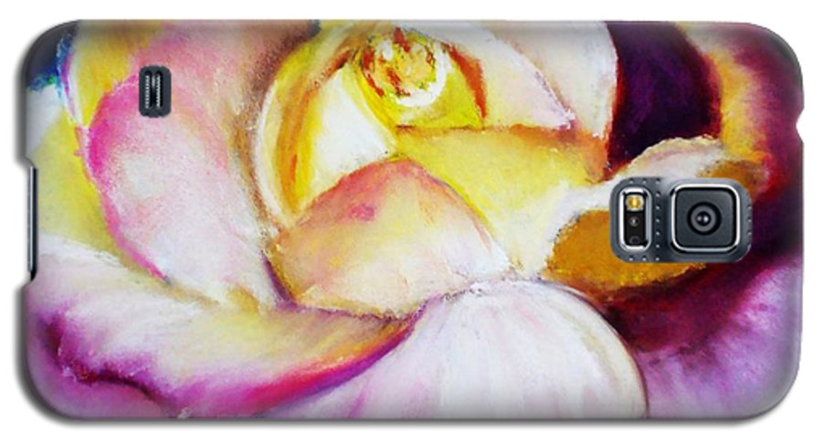 Rose Galaxy S5 Case featuring the print Rose by Melinda Etzold