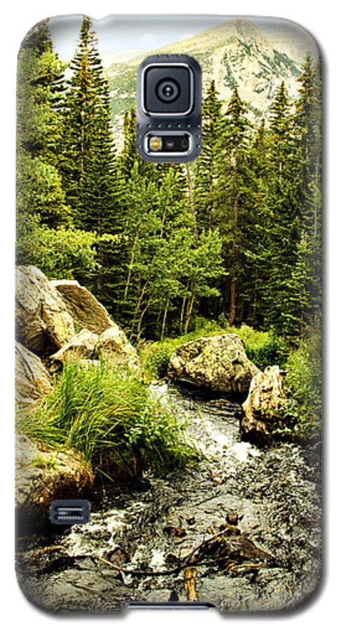Colorado Galaxy S5 Case featuring the photograph Running River by Marilyn Hunt