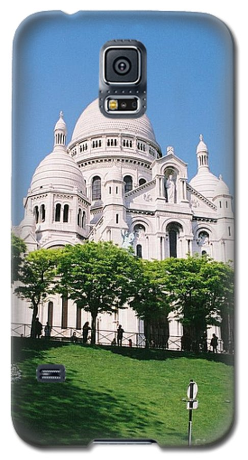 Church Galaxy S5 Case featuring the photograph Sacre Coeur by Nadine Rippelmeyer