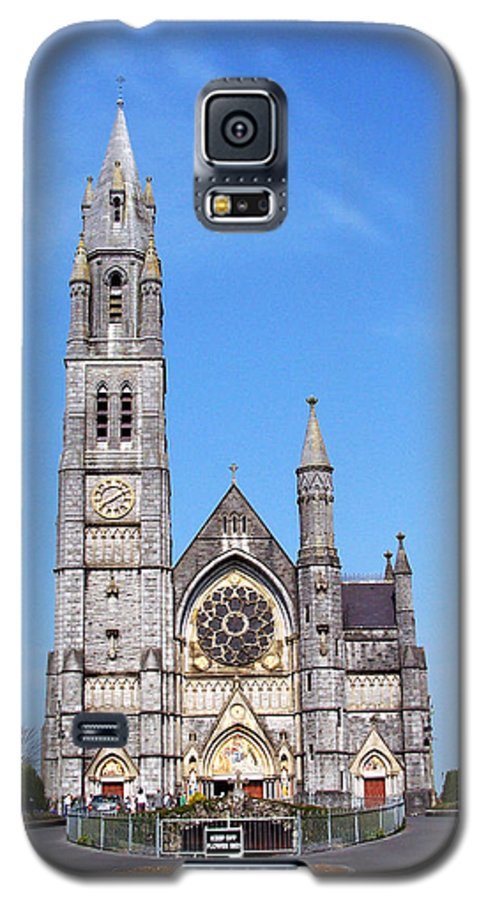 Ireland Galaxy S5 Case featuring the photograph Sacred Heart Church Roscommon Ireland by Teresa Mucha