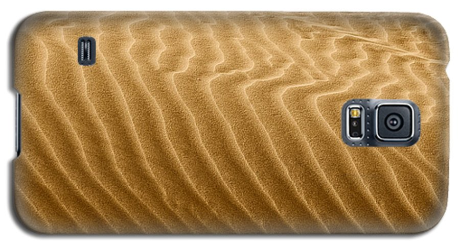 Sand Galaxy S5 Case featuring the photograph Sand Dune Mojave Desert California by Christine Till