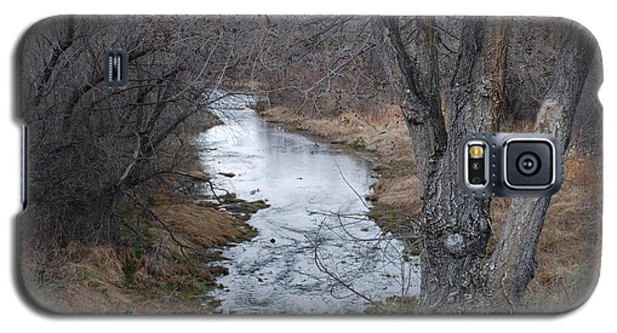Santa Fe Galaxy S5 Case featuring the photograph Santa Fe River by Rob Hans