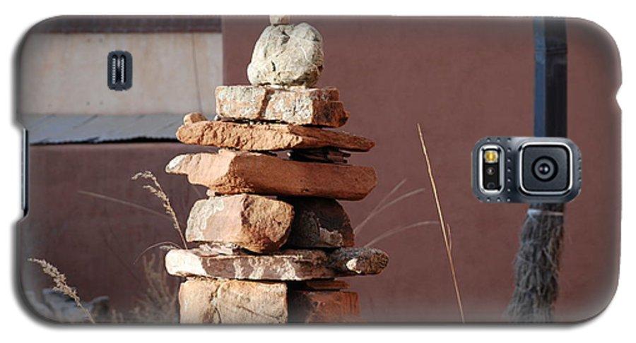 Pop Art Galaxy S5 Case featuring the photograph Sante Fe Rocks by Rob Hans